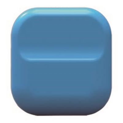 【ABEL】澄石磁鐵夾-藍
