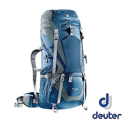 Deuter Act Lite 75+10L拔熱透氣背包_藍/灰