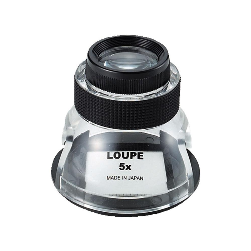 【日本 I.L.K.】5x/15.8D/30mm 日本製量測型開口杯型放大鏡 SL-5