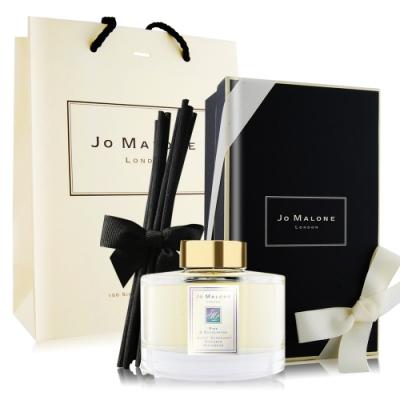 Jo Malone 冬季限定-松木與桉樹居家系列藤枝擴香組165ml-含外盒+緞帶+提袋