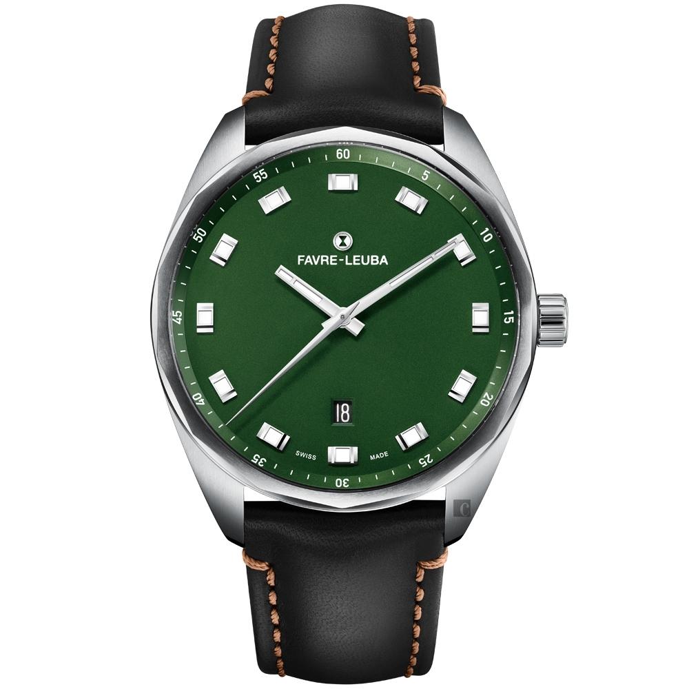 Favre-Leuba 域峰錶 SKY CHIEF DATE 紳士機械錶(00.10201.08.25.41)