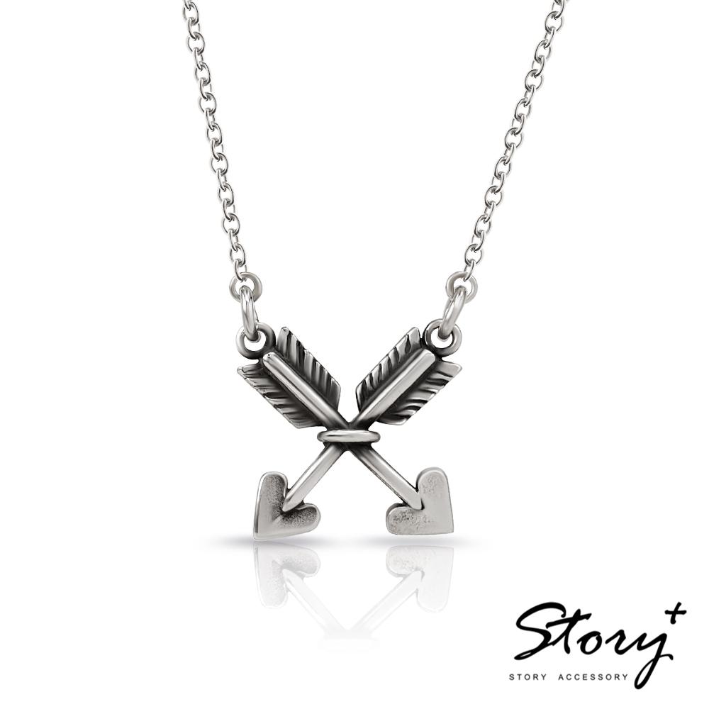 STORY故事銀飾-Cupid's Arrow純銀項鍊
