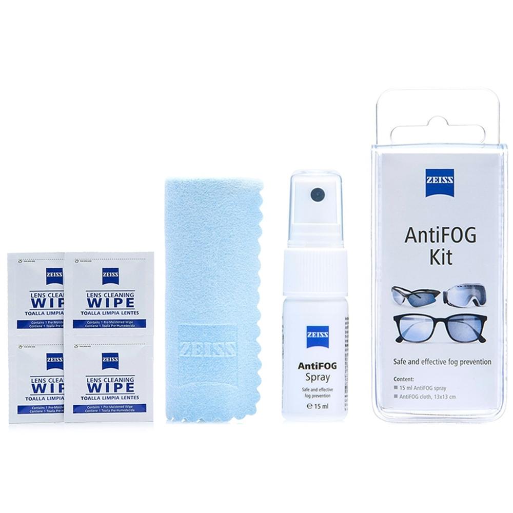 蔡司 Zeiss AntiFOG Kit 專業光學防霧噴霧組 + 抗菌拭鏡紙/20張