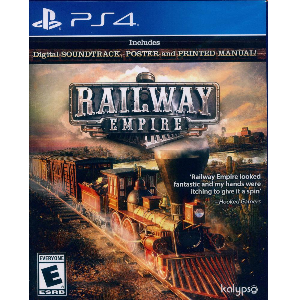 鐵路帝國 Railway Empire- PS4 英文美版