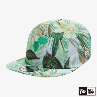 NEW ERA 五分帽 西班牙布料 春意盎然 綠