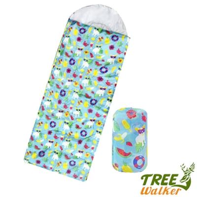 Tree Walker 夢想森林兒童捲筒睡袋 歡樂法鬥
