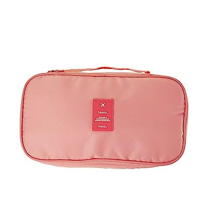 韓版 奇檬子俏皮防潑水旅行雙層收納內衣收納包(6款)
