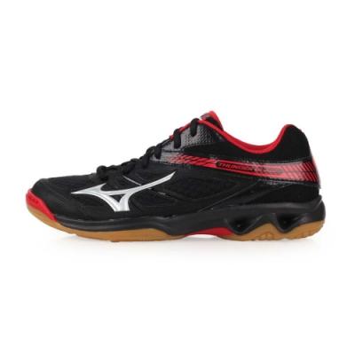 MIZUNO THUNDER BLADE 男女排球鞋-訓練 排球 黑紅銀