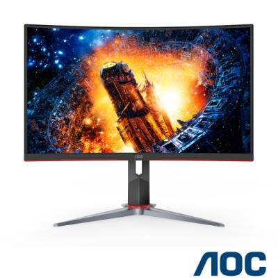 AOC CQ27G2 27型2K曲面電競螢幕 144Hz 極速 1ms HDR