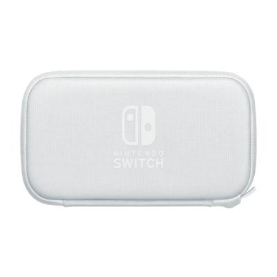 任天堂 Switch Lite主機專用收納包(灰白色)