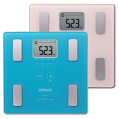 (領券再折)OMRON歐姆龍體重體脂計HBF-214-藍色/粉色 2色選1 (原價$2580)