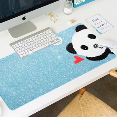 E-dot 多功能加厚防滑可愛熊貓滑鼠桌墊(二色)