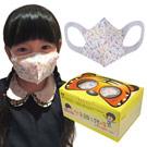 台灣康匠-兒童3D立體三層彩色熊口罩(150個/3盒)