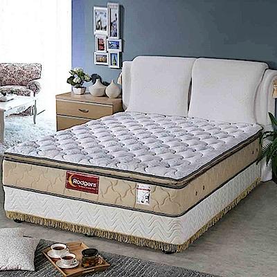 舒伯特606三線乳膠1088調溫獨立筒床墊-雙人加大6*6.2尺