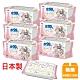 日本LEC 新款迪士尼米奇米妮-口手專用純水99%濕紙巾箱購-60抽x18包入 product thumbnail 1