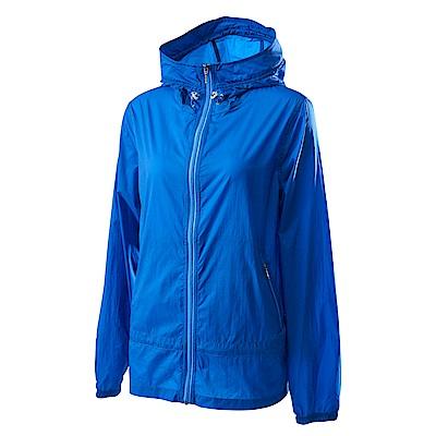 Wildland荒野女15D超輕低防水高透氣外套寶藍