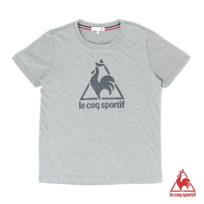 法國公雞牌短袖T恤 LOL2311495-中性-麻灰