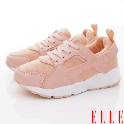 ELLE童鞋 時尚老爹鞋款 ON93011粉(中大童段)
