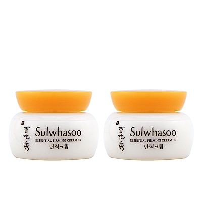 (即期品)Sulwhasoo雪花秀 彈力緊顏霜EX 5ml*2(效期2019年03月)