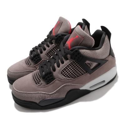 Nike 籃球鞋 Air Jordan 4 Retro 男鞋 經典 喬丹四代 復刻 摩卡 灰 黑 DB0732200