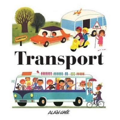 Transport 交通工具 精裝繪本