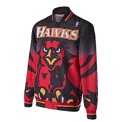 M&N NBA復古熱身外套 老鷹隊 N6056ATLBLK
