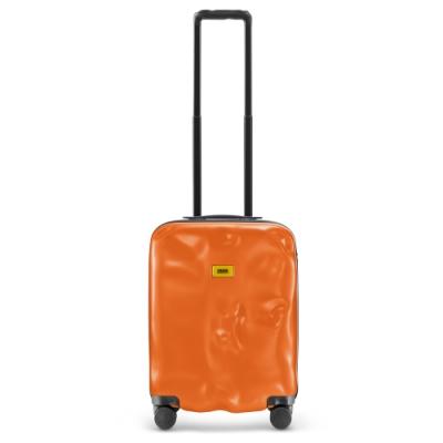 【Crash Baggage】New Icon拉鍊款20吋亮橘防撞行李箱