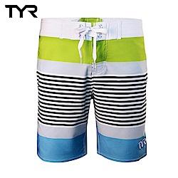 美國TYR 男款彈性海灘褲 Zag Stripe Boardshort