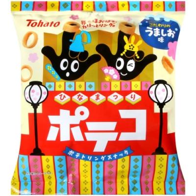 Tohato東鳩 手指圈圈餅-鹽味[期間限定](78g)