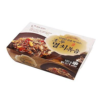 韓味不二-核桃杏仁小魚乾100g