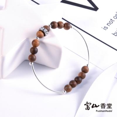 富山香堂 2020唯獨有妳 台灣檀木獨家之戀手串珠13顆6mm 老山檀珠