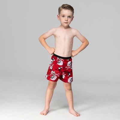 DADADO-夏日好鯊 110-130男童內褲(紅) 品牌推薦-舒適寬鬆