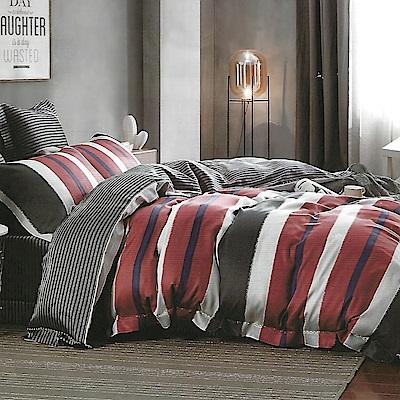 LAMINA 西舍 100%天絲四件式兩用被套床包組(加大)