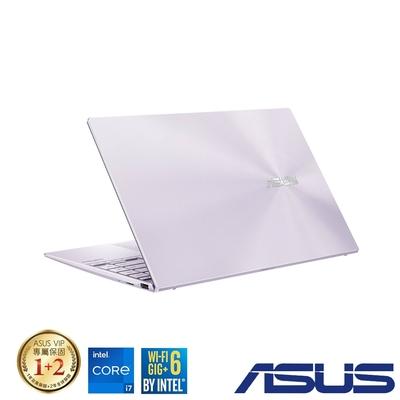 (附M365 15個月)ASUS UX425EA 14吋筆電 (i7-1165G7/16G/512G SSD/ZenBook 14/星河紫)