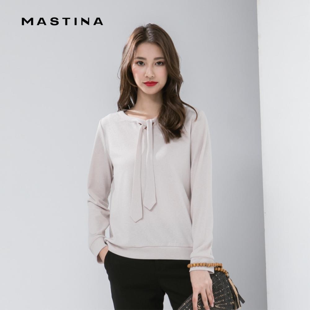 【MASTINA】上班族簡約領結-上衣(二色)