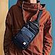 PORTER - 丹寧態度PATCH WORK型格單肩包 - 藍 product thumbnail 1