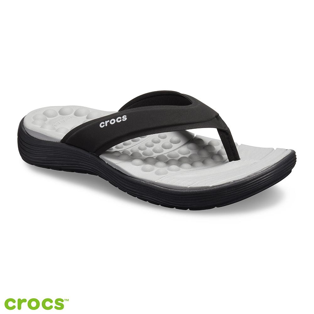 Crocs 卡駱馳 (女鞋) Reviva 女士人字拖 205473-060