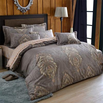 羽織美 浮生若夢 舒柔綿雙人八件式兩用被床罩組