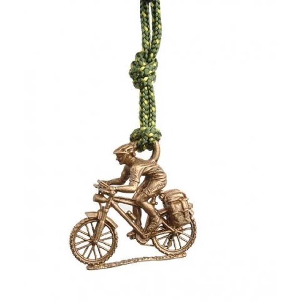 SAC #202 青銅鑰匙圈掛飾 登山車