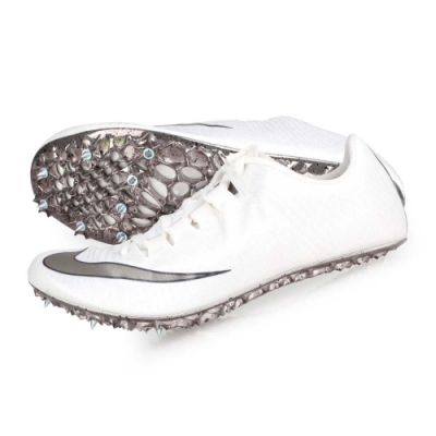 NIKE ZOOM SUPERFLY ELITE 男女田徑釘鞋-短距離  競賽 835996001 白銀