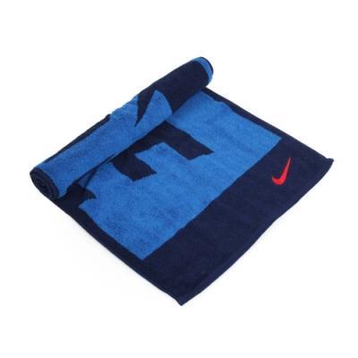NIKE 日式盒裝毛巾 藍丈青紅