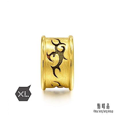 點睛品 Charme XL 酷黑系列 勇氣 黃金串珠