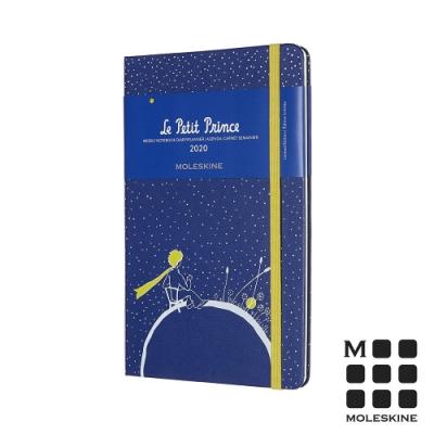 MOLESKINE 2020限定小王子週記手帳12M(L型)-藍