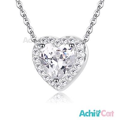 AchiCat 925純銀項鍊 繽紛世代 甜蜜心語
