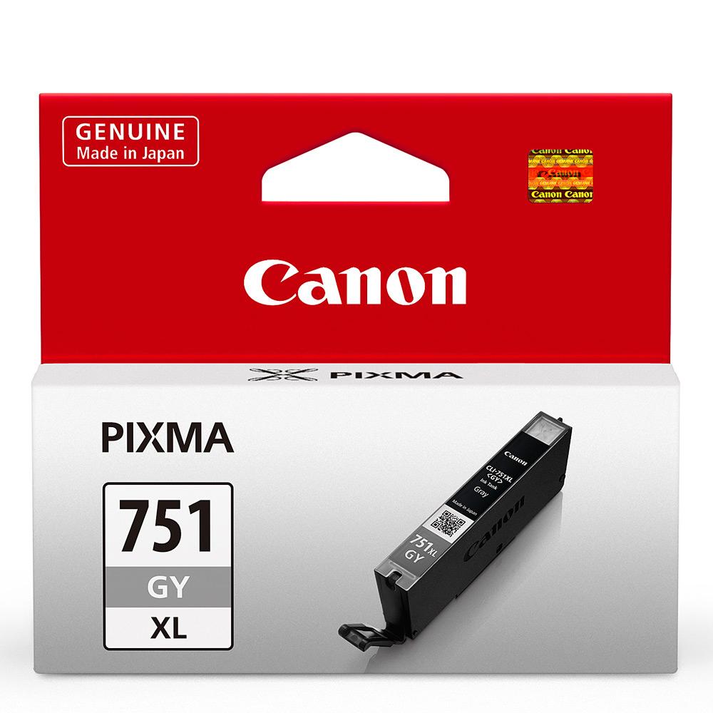 CANON CLI-751XL-GY 原廠灰色高容量XL墨水匣 @ Y!購物