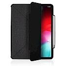 JTLEGEND iPad 2018 Amos 12.9吋折疊布紋皮套(含筆槽)