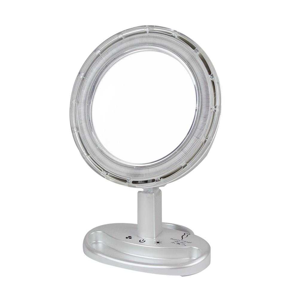 【水美人】DC風扇化妝鏡 MJ-T033 @ Y!購物