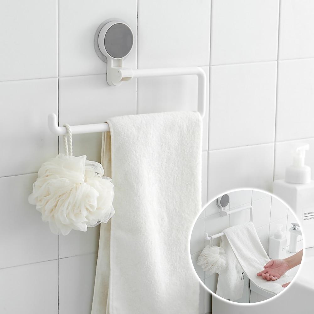 EZlife浴室毛巾旋轉掛架