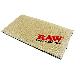 RAW-西班牙進口-Smokers Wallet-麻布製隨身袋(煙草袋/煙絲袋)