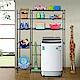 巴塞隆納─三層層板伸縮洗衣機馬桶置物架V型設計強化結構 (附34公分層板) product thumbnail 1
